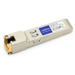 Alcatel iSFP-GIG-T Compatible SFP Transceiver - SFP (mini-GBIC) transceiver module - GigE - 1000Base-TX - RJ-45 - up to 328 ft