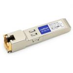Juniper SRX-SFP-1GE-T Compatible SFP Transceiver - SFP (mini-GBIC) transceiver module (equivalent to: Juniper SRX-SFP-1GE-T) - GigE - 1000Base-TX - RJ-45 - up to 328 ft - for Juniper Networks SFP Ethernet I/O Card for SRX 5000 SRX3400 SRX3600