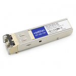 Alcatel SFP-GIG-BX-D Compatible SFP Transceiver - SFP (mini-GBIC) transceiver module (equivalent to: Alcatel-Lucent SFP-GIG-BX-D) - GigE - 1000Base-BX - LC single-mode - up to 6.2 miles - 1490 (TX) / 1310 (RX) nm