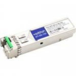 TRENDnet Compatible BX SFP Transceiver - SFP (mini-GBIC) transceiver module (equivalent to: TRENDnet TEG-MG-BX-U-80) - GigE - 1000Base-BX - LC single-mode - up to 49.7 miles - 1490 (TX) / 1550 (RX) nm