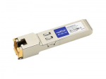SFP (mini-GBIC) transceiver module (equivalent to: Ciena XCVR-000CRJ) - GigE - 1000Base-TX - RJ-45 - up to 328 ft - TAA Compliant - for Ciena ActivEdge 3920 Service Delivery Switch