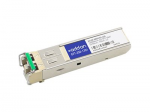 SFP (mini-GBIC) transceiver module (equivalent to: Ciena XCVR-080Y55) - GigE - 1000Base-ZX - LC single-mode - up to 43.5 miles - 1550 nm - TAA Compliant