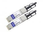 5m Intel Compatible QSFP+ DAC - Direct attach cable - QSFP+ to QSFP+ - 16.4 ft - twinaxial - passive - for Intel Ethernet Converged Network Adapter X520-QDA1