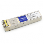 HP JD109A Compatible SFP Transceiver - SFP (mini-GBIC) transceiver module - GigE - 1000Base-ZX - LC single-mode - up to 43.5 miles - 1550 nm - for HPE 12504 3600 FlexFabric 1.92 11908