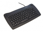 Mini Keyboard - USB - QWERTY - 89 Keys - Black