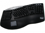 TRU-FORM PRO 308 - CONTOURED ERGONOMIC KEYBOARD WITH BUILT-IN TOUCHPAD (USB)