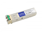 SFP (mini-GBIC) transceiver module - GigE - 1000Base-DWDM - LC single-mode - up to 49.7 miles - channel: 43 - 1542.94 nm - TAA Compliant