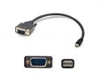 3ft Mini-DP to VGA Adapter Cable - DisplayPort cable - Mini DisplayPort (M) to HD-15 (VGA) (M) - 3.3 ft - active - black