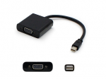 8in Mini-DP to VGA Adapter Cable - DisplayPort cable - Mini DisplayPort (M) to HD-15 (VGA) (F) - 7.9 in - black