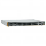 Telesis AT-x510-52GTX Stackable Gigabit Edge Switch - 48 Ports - Manageable - 48 x RJ-45 - Stack Port - 4 x Expansion Slots - 10/100/1000Base-T - Rack-mountable