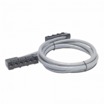Data Distribution Cable - Network cable - RJ-45 (F) to RJ-45 (F) - 39 ft - UTP - CAT 5e - gray