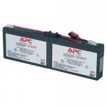 Replacement Battery Cartridge #18 - UPS battery - 1 x lead acid - black - for P/N: AP1250RM PRO8TV PS250 PS450 SC1500 SC250RM1U SC450R1X542 SC450RM1U