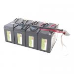 Replacement Battery Cartridge #25 - UPS battery - lead acid - for P/N: SU1400RMXLB3U SU1400RMXLB3U-TRAD SU1400RMXLB3U-TU SU1400RMXLIB3U