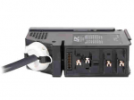 IT Power Distribution Module - Automatic circuit breaker (plug-in module) - 208 V - output connectors: 1 - black - for P/N: PDPM100F-M PDPM100L6F-M SY50K100F SY60K100F SY70K100F SY80K100F SY90K100F