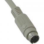 25ft PS/2 M/M Keyboard/Mouse Cable - mini-DIN (PS/2) Male - mini-DIN (PS/2) Male - 25ft - Beige