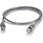 Cat5e Snagless Unshielded (UTP) Network Patch Cable (TAA Compliant) - Patch cable - RJ-45 (M) to RJ-45 (M) - 50 ft - UTP - CAT 5e - snagless stranded - gray - TAA Compliant