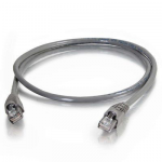 Cat5e Snagless Unshielded (UTP) Network Patch Cable (TAA Compliant) - Patch cable - TAA Compliant - RJ-45 (M) to RJ-45 (M) - 100 ft - UTP - CAT 5e - snagless stranded - gray