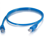 Cat5e Snagless Unshielded (UTP) Network Patch Cable (TAA Compliant) - Patch cable - RJ-45 (M) to RJ-45 (M) - 3 ft - UTP - CAT 5e - snagless stranded - blue - TAA Compliant