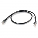 7ft Cat6 Snagless UTP Unshielded Ethernet Network Patch Cable (TAA) - Black - Patch cable - TAA Compliant - RJ-45 (M) to RJ-45 (M) - 7 ft - UTP - CAT 6 - molded snagless stranded - black