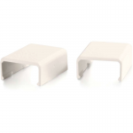 2 Pack Wiremold Uniduct 2700 Cover Clip - Fog White - Cable raceway cover clip - fog white (pack of 2 )