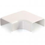 Wiremold Uniduct 2900 9 Flat Elbow - Fog White - Elbow - Fog White - Polyvinyl Chloride (PVC)