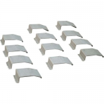 12-pack Wiremold OFR Wire Clips - Cable clips - aluminum (pack of 12)