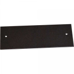 Wiremold OFR Blank Device Plate - Cable raceway interface box blank plate - black