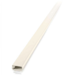 2 pack 8ft Wiremold Uniduct 2700 - Ivory - Raceway - Ivory - 20 Pack - Polyvinyl Chloride (PVC)