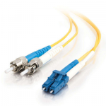 8m LC-ST 9/125 Duplex Single Mode OS2 Fiber Cable TAA - Yellow - 26ft - Patch cable - LC single-mode (M) to ST single-mode (M) - 8 m - fiber optic - 9 / 125 micron - OS2 - yellow - TAA Compliant