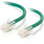 25FT CAT5E NON-BOOTED CROSSOVER UNSHIELDED (UTP) NETWORK PATCH CABLE - GREEN