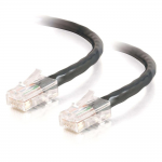 14ft Cat5e Non-Booted Crossover Unshielded (UTP) Network Patch Cable - Black - Category 5e for Network Device - RJ-45 Male - RJ-45 Male - Crossover - 14ft - Black