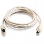 6ft PS/2 M/F Keyboard/Mouse Extension Cable - mini-DIN (PS/2) Male - mini-DIN (PS/2) Female - 6ft - Beige
