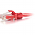 10ft Cat5e Snagless Unshielded (UTP) Network Patch Cable - Red - Category 5e for Network Device - RJ-45 Male - RJ-45 Male - 10ft - Red