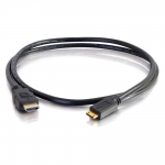 6ft High Speed HDMI to HDMI Mini Cable with Ethernet - HDMI for Audio/Video Device - 6 ft - 1 x HDMI Male Digital Audio/Video - 1 x HDMI (Mini Type C) Male Digital Audio/Video