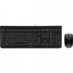 DC2000 USB KEYBOARD AND MOUSE COMBO BLACK 104 PLUS 4 KEY US INTL LAYOUT 3 BUTTON SYMMETRICAL OPTICAL MOUSE WITH 1200 DPI