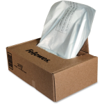 Powershred Waste Bags for 425 and 485 Series Shredders - 38 gal - Plastic - Clear