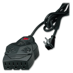8-outlet surge protection. With 6 feet cord space for up to 5 AC adapters. - 8 x NEMA 5-15R - 1300 J - 220 V AC Input - 220 V AC Output