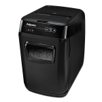 AutoMax 130C Hands Free Paper Shredder - Shreds documents into 5/32? x 1? cross-cut particles (Security Level P-4) - 8.5-gallon bin