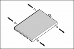 120GB non-hot-plug SATA hard disk drive - 5400 RPM 1.5Gb/sec transfer rate 2.5-inch small form factor (SFF) Entry