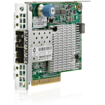 FlexFabric 10Gb Ethernet 2-Port 534FLR-SFP+ Adapter FlexibleLOM form-factor - Has two 10Gbe SFP+ ports and 256MB integrated memory - Provide up to 40Gb bi-directional per adapter - Requires one x8 PCI (Gen 2) Express slot