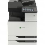 CX921DE - Multifunction printer - color - laser - 11.7 in x 17 in (original) - ARCH B (12 in x 18 in)  SRA3 (12.6 in x 17.7 in) (media) - up to 35 ppm (copying) - up to 35 ppm (printing) - 1150 sheets - 33.6 Kbps - USB 2.0 Gigabit LAN USB 2.0 host