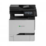 CX725dhe - Multifunction printer - color - laser - 8.5 in x 14.0 in (original) - A4/Legal (media) - up to 47 ppm (copying) - up to 47 ppm (printing) - 650 sheets - 33.6 Kbps - USB 2.0 Gigabit LAN USB 2.0 host