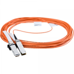 40 Gb/s Active Optical Cable - InfiniBand cable - QSFP+ to QSFP+ - 98 ft