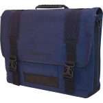 The ECO 15.6 inch to 17.3 inch Messenger - Notebook carrying case - 15.6 inch - 17.3 inch - navy blue
