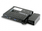 EXTERNAL OPS DOCK FOR STANDALONE OPS USAGE. TURNS AN INTERNAL OPS CARD INTO AN EXTERNAL DEVICE. COMPATIBLE WITH THE OPS-PCAF OPS-PCAFQ OPS-PCIC OPS-PCIA AND OPS-DRD SERIES