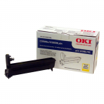 Oki Yellow Image Drum For C5500n and C5800Ldn Printers - 20000 Page - 1 Pack