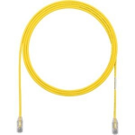 TX6-28 Category 6 Performance - Patch cable - RJ-45 (M) to RJ-45 (M) - 5 ft - UTP - CAT 6 - booted halogen-free stranded - yellow