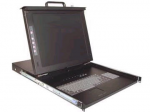 1U) 17IN LCD DRAWER TOUCHPAD KB DVI/USB KVM SWITCH