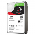 IronWolf Pro - Hard drive - 2 TB - internal - 3.5 inch - SATA 6Gb/s - 7200 rpm - buffer: 128 MB - with Seagate Rescue Data Recovery