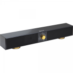 Multimedia 2.0 Sound Bar Speaker - 5 W RMS - Black - 100 Hz - 20 kHz - USB
